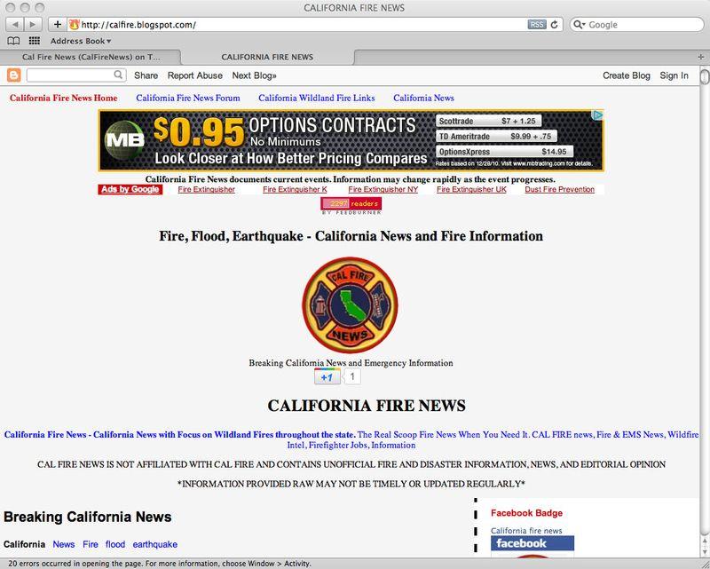 Calfirenewsblog