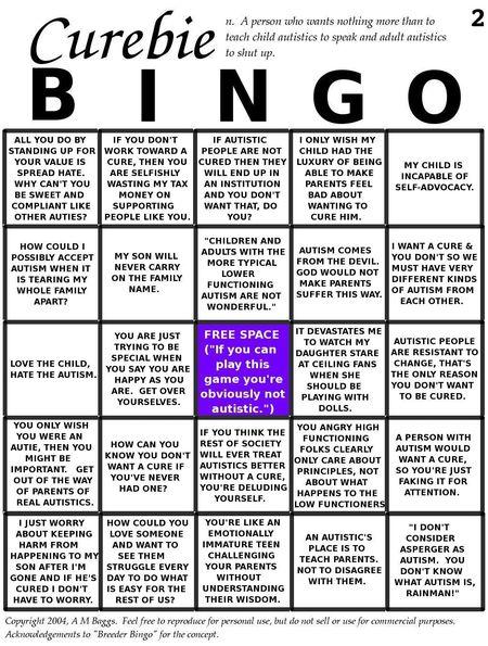 Curbie_autism_bingo