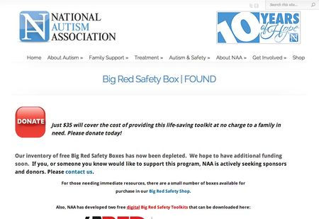 Big Red Box all gone need more money