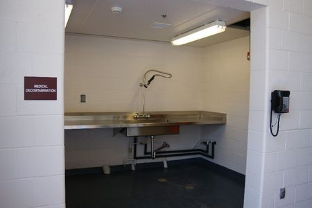 Decontamination area US