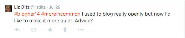 Anonymous-blogging