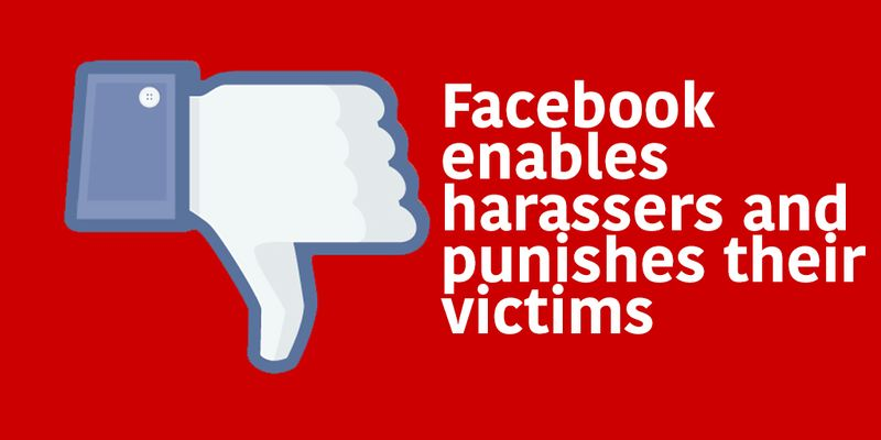 Facebook harassers