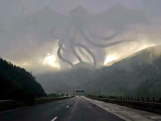 Cthulhu end  of road