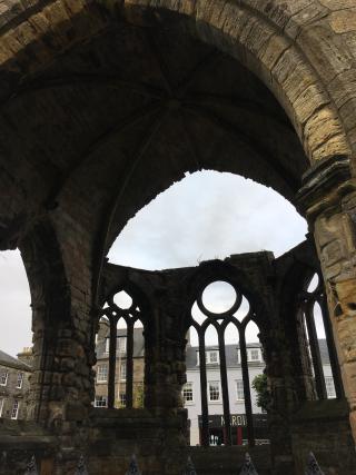 Blackfriars chapel ruined 2