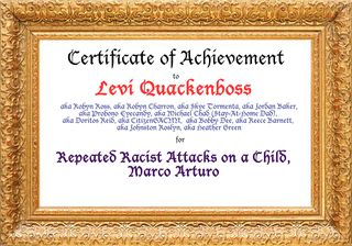 Levi Quackenbush Award