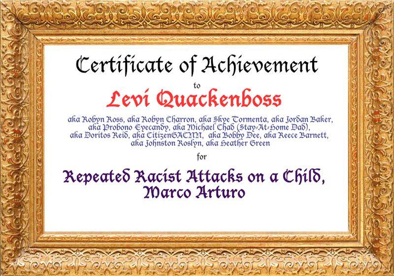 Levi Quackenbush Award