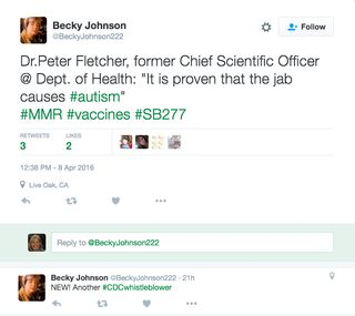 Becky Johnson new CDCwhistleblower
