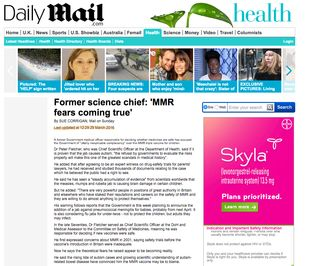 Daily Mail Corrigan Fletcher hilite