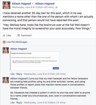 Allison Hagood update.