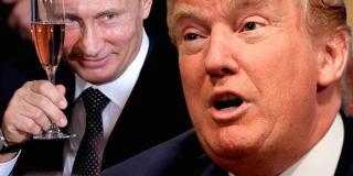 Putin toasting trump