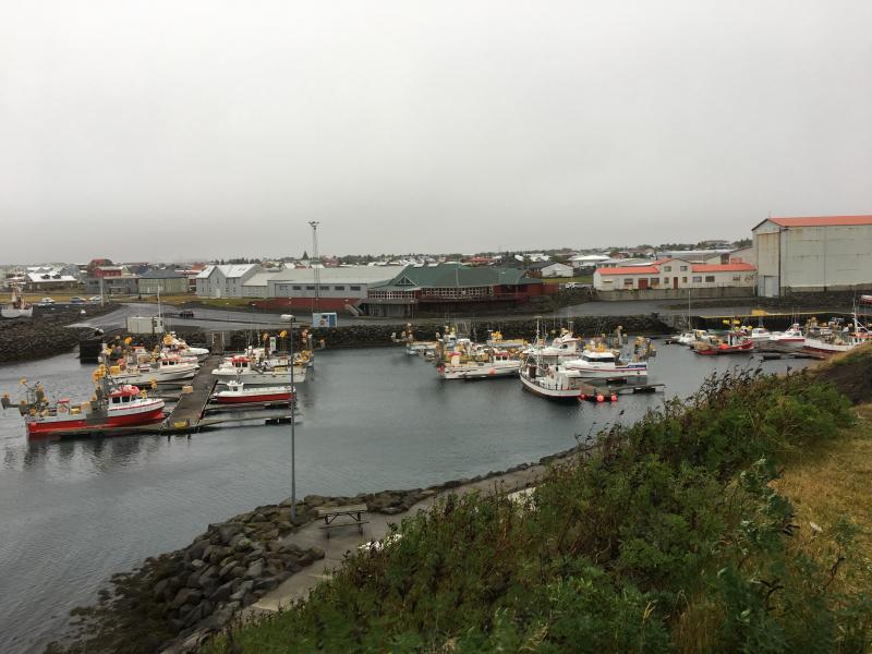 Keflavik small boat harbor