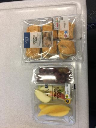 Train breakfast