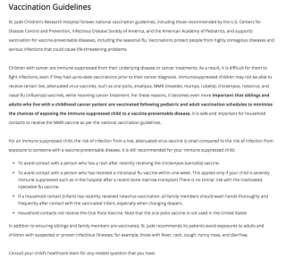 StJudeVaccinationGuidline