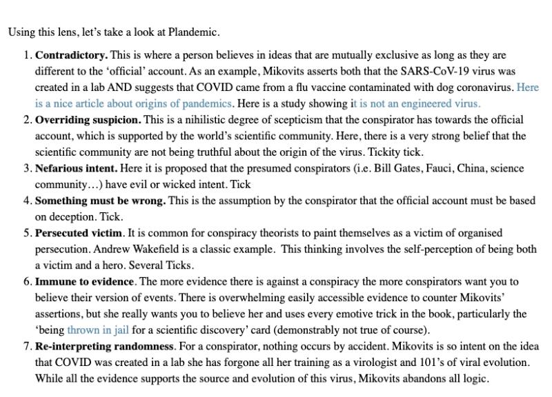 Petrousis Harris Conspiracy 2