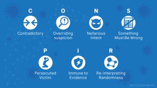 Conspir Logos seven traitsl