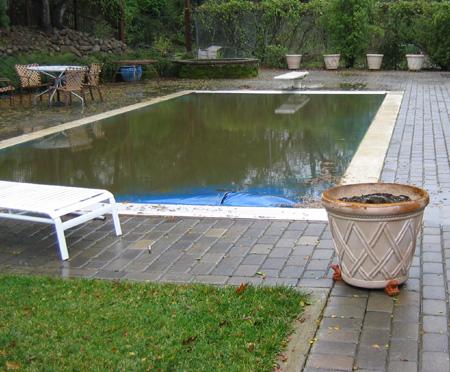 long view pool overflowing
