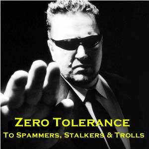 Zero tolerance for trolls image